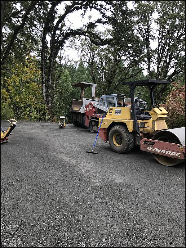 Gravel Driveway Approach, Lorane, OR